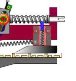 Die Funktion der Kontaktbremse im Crimpwerkzeug (Animation)