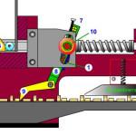 Mechanischer Vorschub im Crimpwerkzeug (MQC) (Animation)