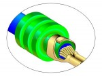 Umfassungscrimp, Asymmetrisch - Isolationscrimp (Sealvariante)