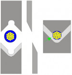 Abisolier- und Schneidemesser - Matritzenform