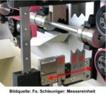 Abisolier- Schneiden - Sondermesser in Vollautomaten