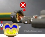 Gesenk Zuordnung für offene Crimphülse (Fehler)